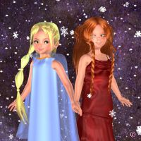 Frozen kids by Chronophontes