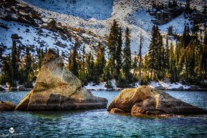 The Floating Rocks HDR by mjohanson