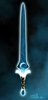 Silvermoon Blade by NJPoulin