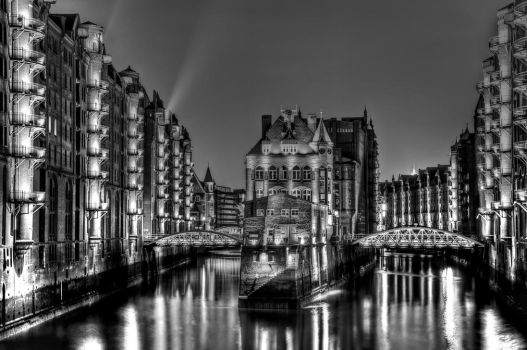 Time travel old warehouse district by Bull04