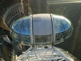 The London Eye Pod by CollegeSpirit17