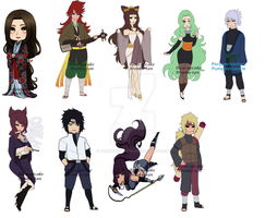 New Adopts I got! by Pepperminties