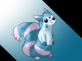 Request- Streamfur the Furret by Moonblizzard