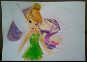 WIP 1 - Tinkerbell by Monique-Art