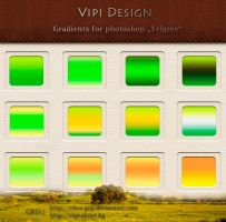 Gradients for photoshop - Yelgree by elixa-geg