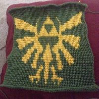 Skyward Sword pillow cover not finished by ChloeCorp