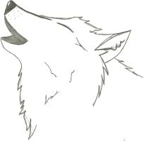 Howling Wolf _WIP_ by MrNaruto8877