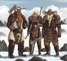 Mountain Tribe by Crowsrock