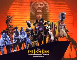 Lion King on Broadway Photos by TomLion