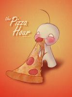 the Pizza Hour by ZomzArtisticz