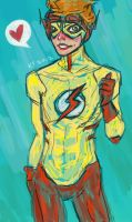 Kid Flash by Ospreyghost13