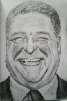John Goodman by DaftPencil
