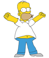 Homer Simpson by Ch42K