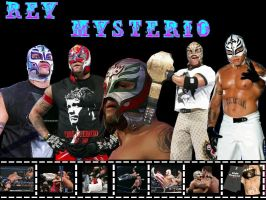 Rey Mysterio Wallpaper by fuzzypurplequill