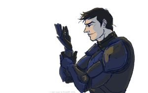 Pilot Profile: Dick Grayson by queensarwa