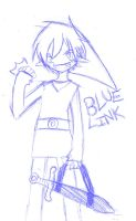 BLUE LINK 8D by SouthpawSister