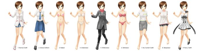 Sherly Outfits by Intelman
