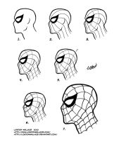 Spider-Man Mask Tutorial by LostonWallace