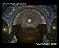 St. Peter's Basilica by RowanTiger