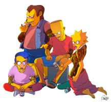 Simpsons Beyond by sakiroo