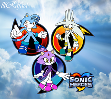 Sonic Heores Team Future by lllRafaelyay