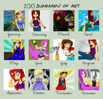 JezMM's 2010 Art Summary by JezMM