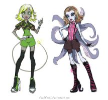 Monster High sketches by DashkaChi