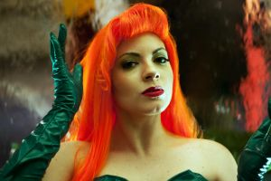 Pamela Isley becomes Poison Ivy - Pretty Poison by Kapalaka