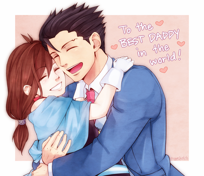 The Best Daddy! by maesketch