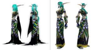 Before and after for Edune by AvannTeth