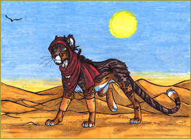 On The Desert by Serkonian
