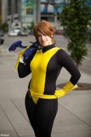 Kitty Pryde and Lockheed by St3phBot
