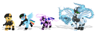 Commission: Ultimate My Little Pony by MagniFire