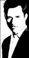 Jeffrey Donovan - Man in suit by InvisibleRainArt