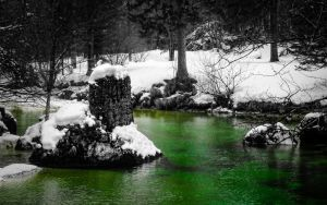 Winterwatersunscape by 0505-0505