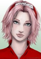 Semi-Realism: Sakura by cynchick
