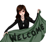 Welcome~! by CrimsonSnows