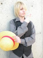 One Piece - Sanji Cosplay 2 by Fallen--Angel