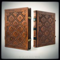 Large Leather Journal... by alexlibris999
