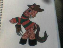 My Little Krueger by dragonholder411