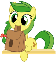 Adorable Apple Fritter Holding Bags by Torvusil