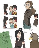More Avatar Sketches by BBH