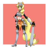 Fantasy RPG: Applejack Done by HotokoTenshi