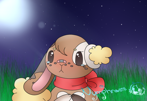 Quickie: Parsley the Buneary by Nymphrasis