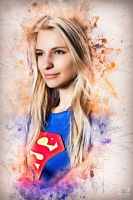 Supergirl by Blueloth