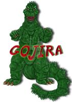 Gojira _ Stamp by spiritwar