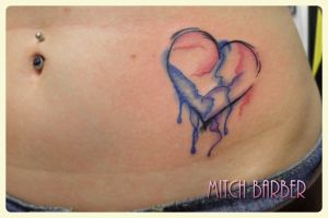 Bleeding Heart by MitchBarberTattoos