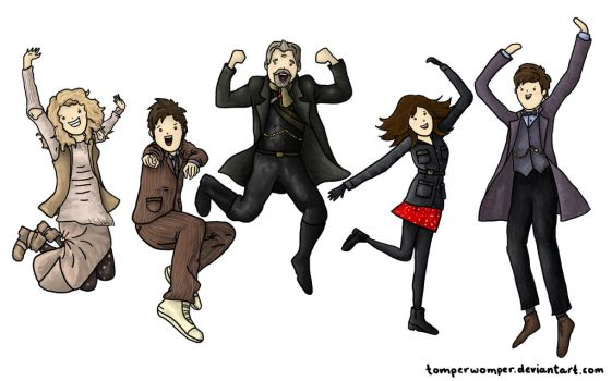 Day of the Doctor by TomperWomper