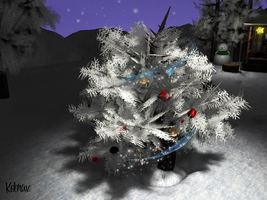 3D christmas scene by Kobraxxx