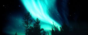 Northern Lights 3749x1500 by SyntheticIdea